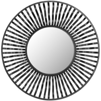 Swirl Round Wall Mirror