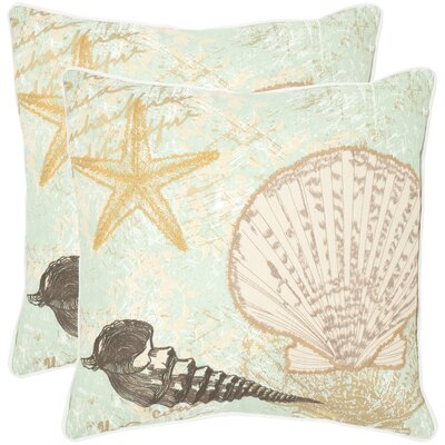 Eve Cotton Throw Pillow Size: 18 H x 18 W