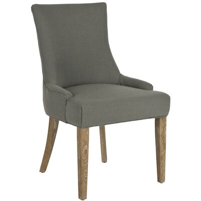 Safavieh Lester Parsons Chair (Set of 2) - Finish: White Washed