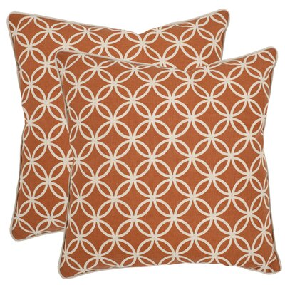 Alice Cotton Throw Pillow