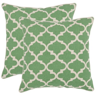 Suzy Cotton Throw Pillow