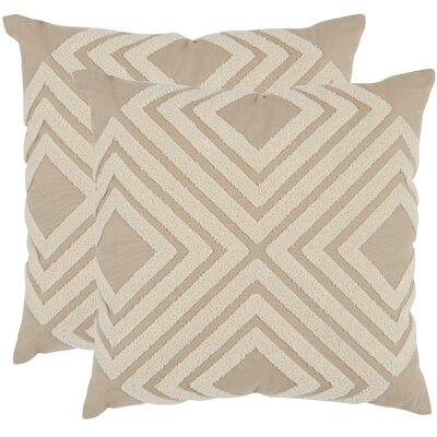 Stella Cotton Throw Pillow