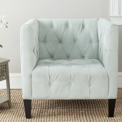 Glen Armchair Upholstery: Light Blue