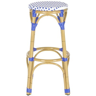 30 Bar Stool Upholstery: Blue