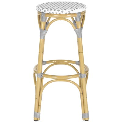 30 Bar Stool Upholstery: Grey