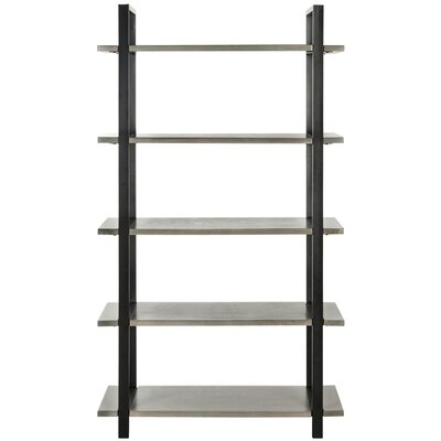 Carol 65 Etagere Bookcase Finish: French Grey