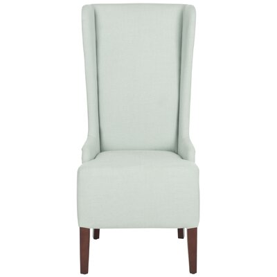 Oliva Cotton Side Chair Upholstery: Seafoam Green