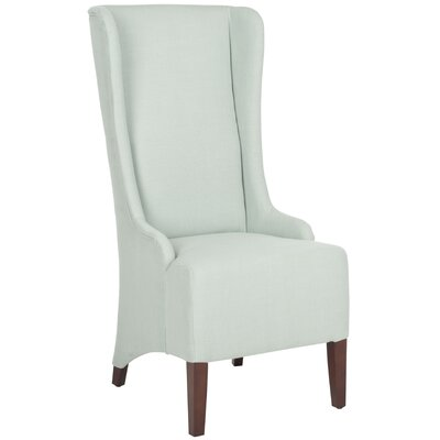 Oliva Cotton Parson Chair Upholstery: Seafoam Green