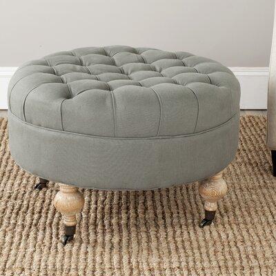 Mandy Ottoman Upholstery: Granite