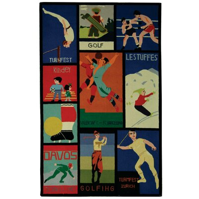 Vintage Posters Novelty Rug Rug Size: Rectangle 2 x 3