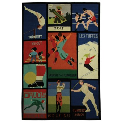 Vintage Posters Novelty Rug Rug Size: Rectangle 6 x 9