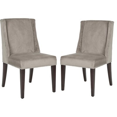 Humphry Side Chair Color: Mushroom Taupe