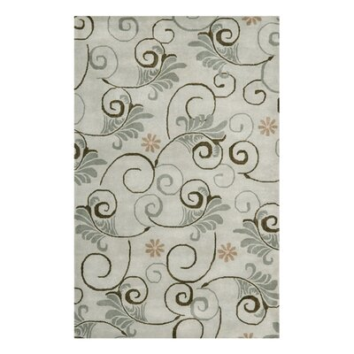 Soho Grey Area Rug Rug Size: Rectangle 36 x 56