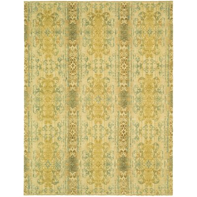 Castillian Yellow Area Rug Rug Size: Rectangle 8 x 10