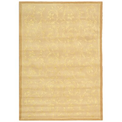 French Tapis Sand Contemporary Rug Rug Size: 5 x 8