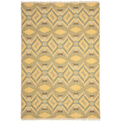 Couture Saffron Yellow Area Rug