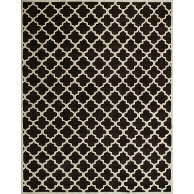 Precious Charcoal Rug Rug Size: Rectangle 8 x 10