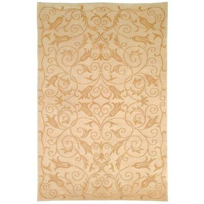 Tibetan Ivory Rug Rug Size: 6 x 9