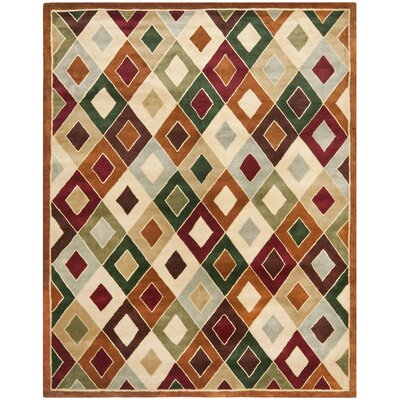 Royalty Tufted Rug Rug Size: Rectangle 83 x 11