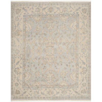 Oushak White Area Rug Rug Size: 8 x 10