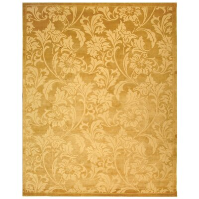 Tibetan Light Gold Rug Rug Size: 6 x 9