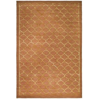 Tibetan Rust Rug Rug Size: 9 x 12