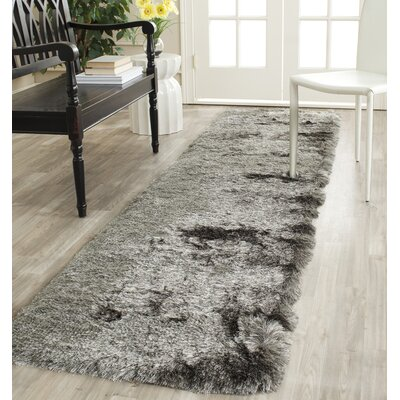 Montpelier Silver Area Rug Rug Size: Runner 23 x 10