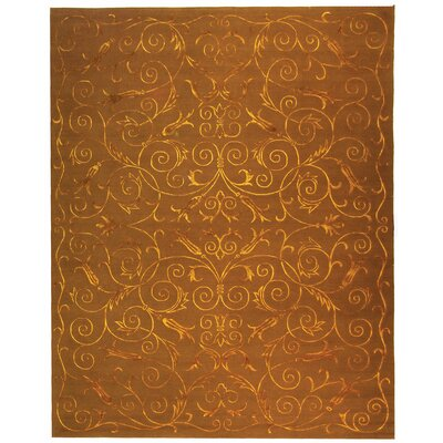 Tibetan Deep Bronze Rug Rug Size: 10 x 14