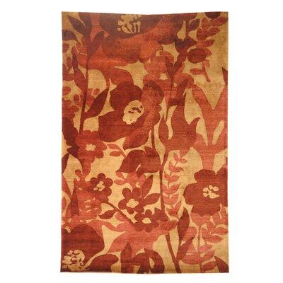 Tibetan Red Rug Rug Size: 9 x 12
