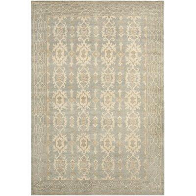 Oushak Ivory Area Rug Rug Size: 10 x 14