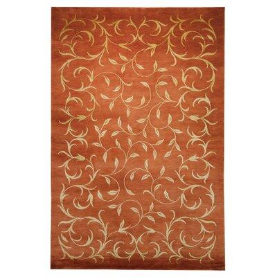 Tibetan Rust / Gold Rug Rug Size: 6 x 9