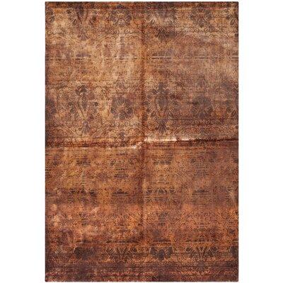 Tibetan Rust Rug Rug Size: 6 x 9