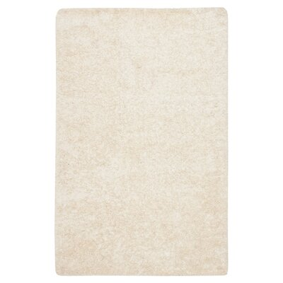 Chesa Hand-Tufted/Hand-Hooked White Area Rug Rug Size: Rectangle 26 x 4