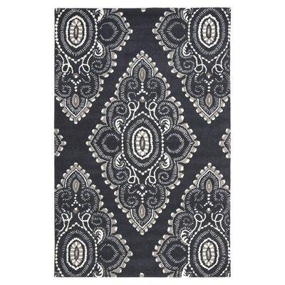 Wyndham Black/Grey Rug