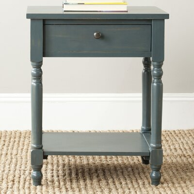 Tami End Table Finish: Steel Teal