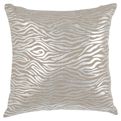 Demi Linen Throw Pillow Size: 18 H x 18 W