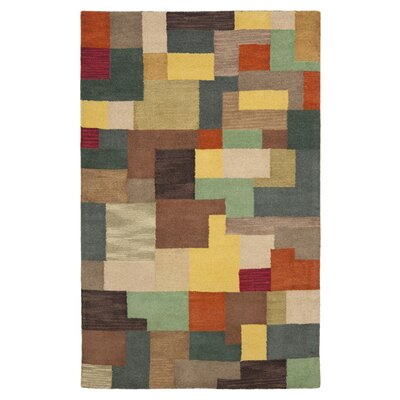 Soho Multi Contemporary Rug Rug Size: Rectangle 36 x 56