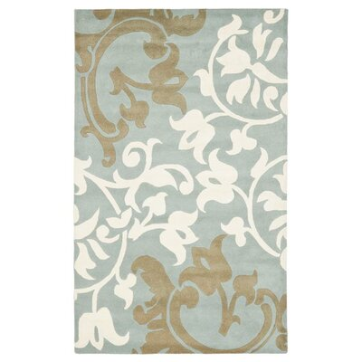 Soho Blue/Multi Rug Rug Size: Rectangle 6 x 9