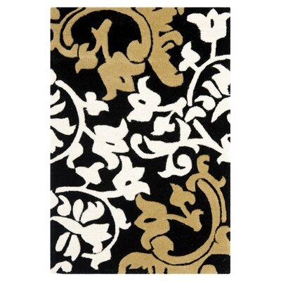 Soho Black/Multi Rug Rug Size: Rectangle 5 x 8