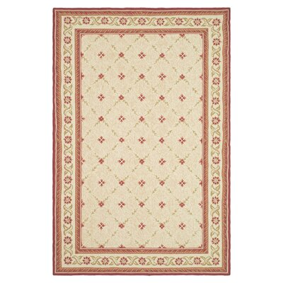 Wilton Beige Area Rug Rug Size: Rectangle 56 x 86