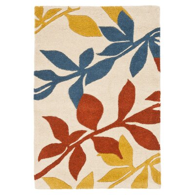 Soho Light Beige / Multi Contemporary Rug Rug Size: Rectangle 76 x 96
