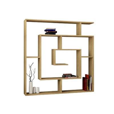 "Labirent 49.2"" Standard Bookcase"