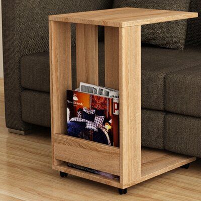 Thelma End Table Finish: Oak
