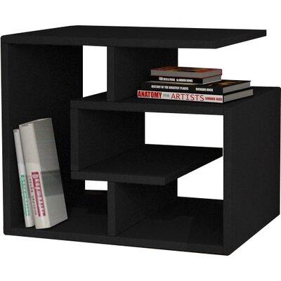 Labirent End Table Color: Black