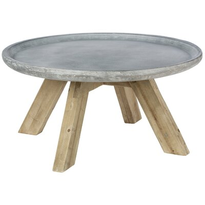 Acosta Contemporary Round End Table