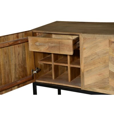 Wageningen Storage Buffet Table with Winerack