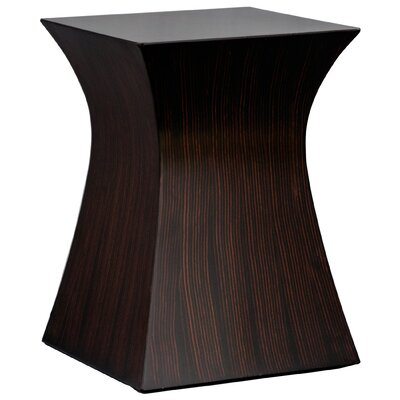 Hourglass End Table