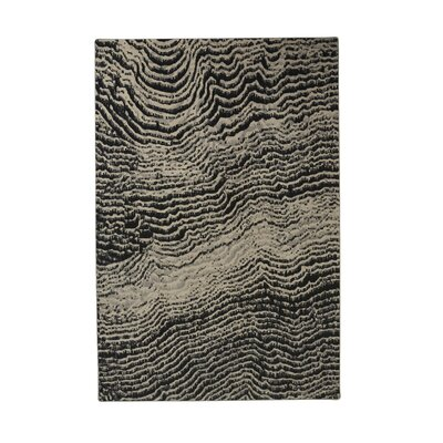 Industrial Landscape Gray/Beige Area Rug Rug Size: Rectangle 47 x 67