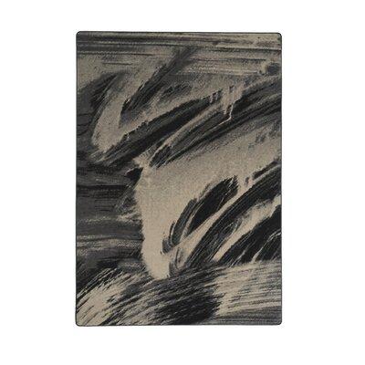 Industrial Landscape Gray/Beige Area Rug Rug Size: 47 x 67