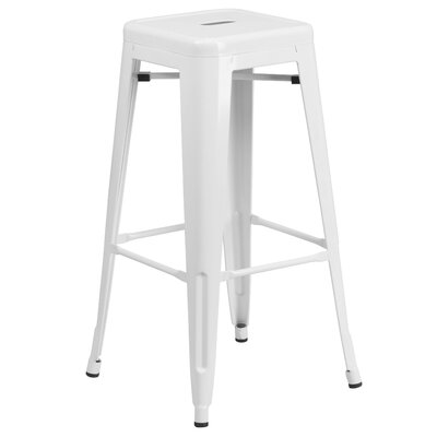30 Bar Stool Finish: White